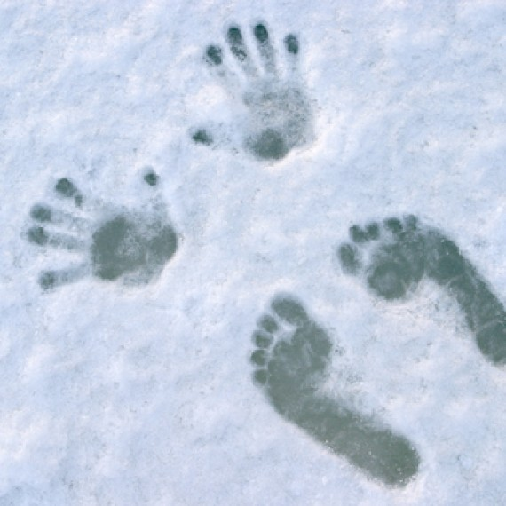 Cold Hands and Feet in Snow