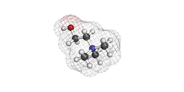 Illustration of a molecular structure