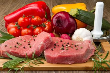 Protein Fats Vegetables