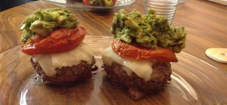 Photo of grass-fed burgers