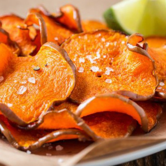Baked Pumpkin Chips