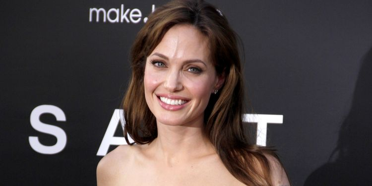 Photo of Angelina Jolie smiling