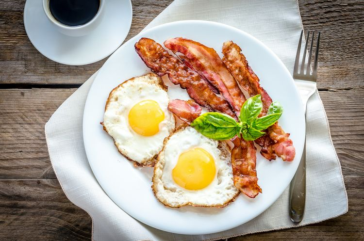 Photo of Fried Eggs With Bacon