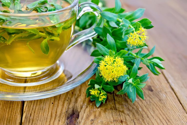 Photo of Rhodiola Rosea Tea that helps against anxiety