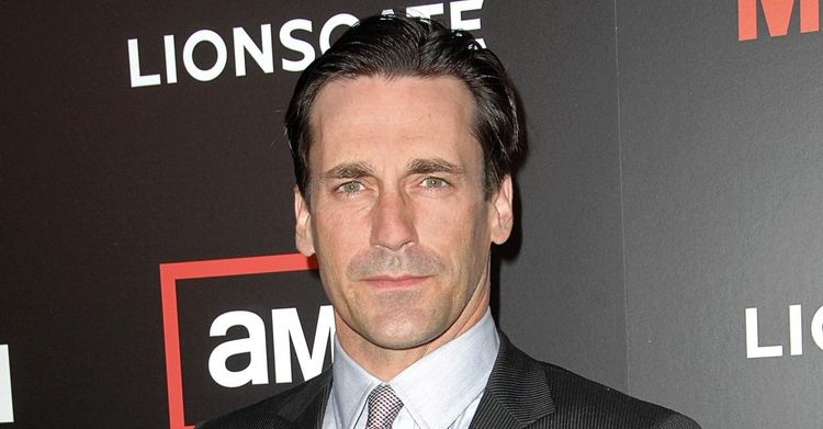 Close up photo of Jon Hamm