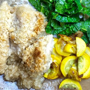 Coconut-Crusted Chicken Strips