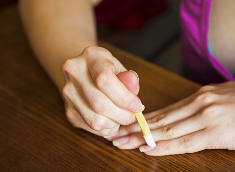 Photo of a Cuticle Treatment