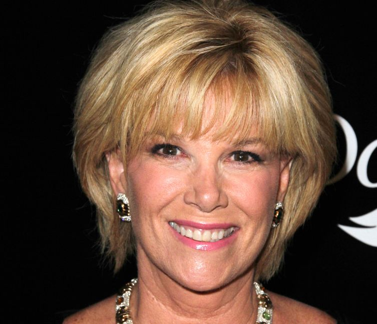 Photo of Joan Lunden, co-host of Good Morning America, who suffered from breast cancer