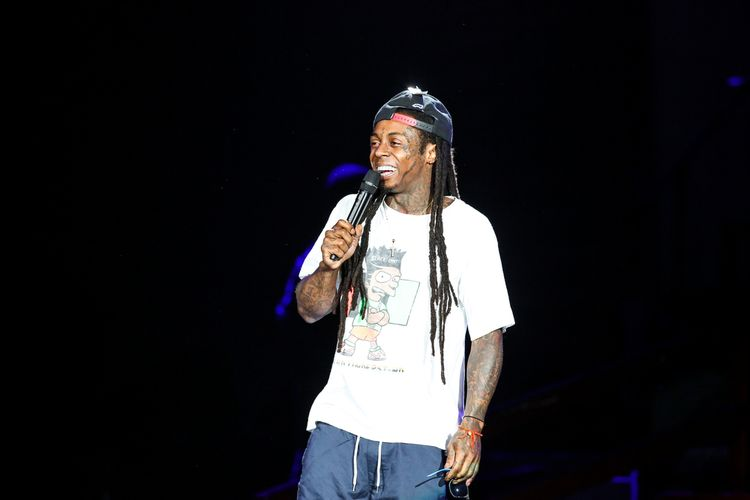 Photo of singer Lil Wayne who suffers from epilepsy