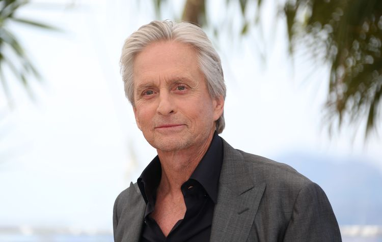 Photo of Michael Douglas outdoors