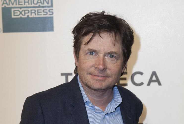 Photo of Michael J Fox who suffers from Parkinson's disease