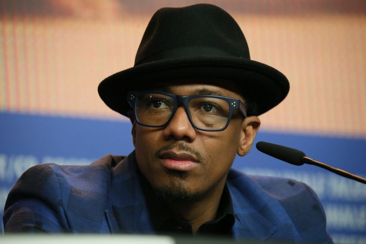 Photo of host Nick Cannon who suffers from SLE