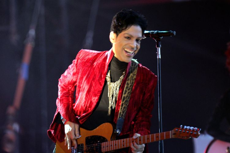 Photo of musician Prince who suffered from epilepsy