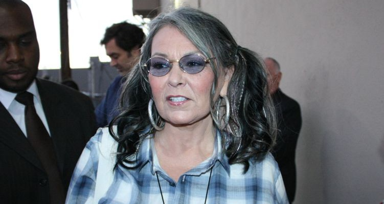 Photo of actress Roseanne Barr who suffers from glaucoma