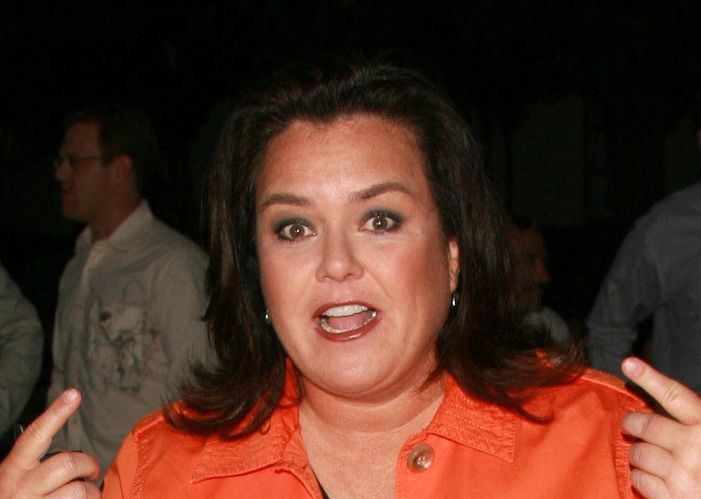 Photo of Rosie O'Donnell who suffered heart attack in 2012