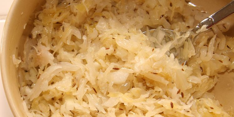 Photo of fermented cabbage