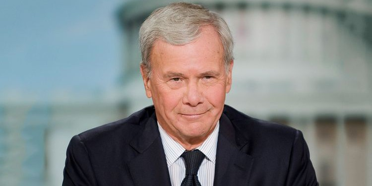Photo of Tom Brokaw who suffered from multiple myeloma