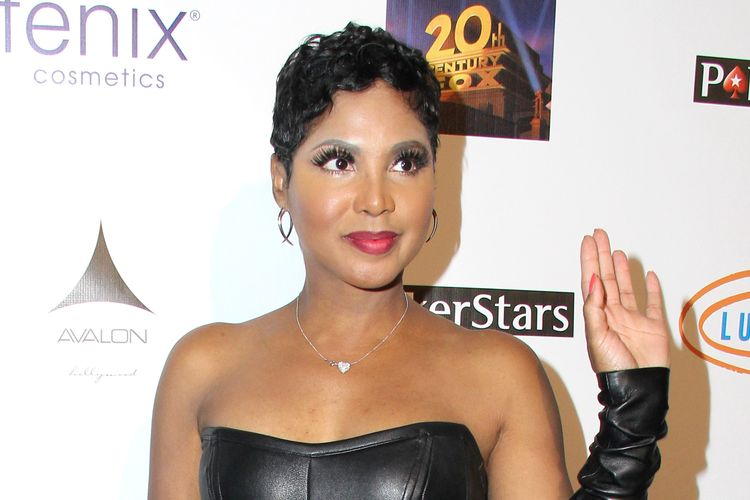 Photo of Toni Braxton who suffers from systematic lupus erythematosus