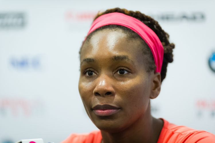 Photo of tennis player, Venus Williams who suffers from Sjogren's Syndrome