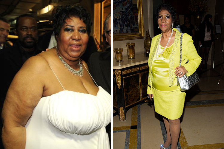 Photo of Aretha Franklin who cut out the processed foods