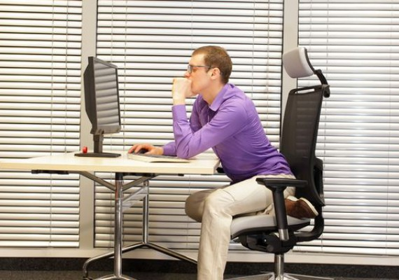 Bad Posture When Sitting