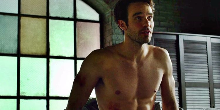 Photo of Charlie Cox in Daredevil looking fit