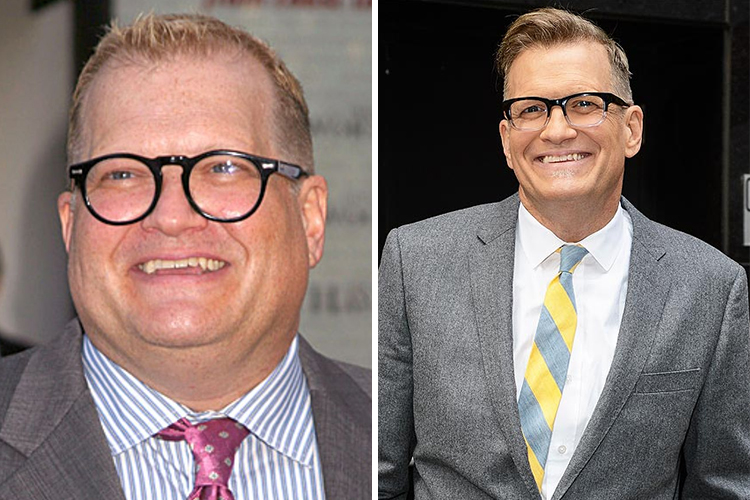 Photo of Drew Carey who cured his diabetes by correcting his lifestyle