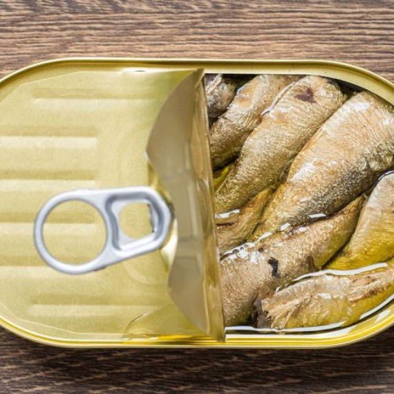 Can of Healthy Sardines