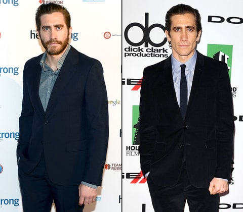 Photo of Jake Gyllenhaal who lost weight for the role in Nightcrawler