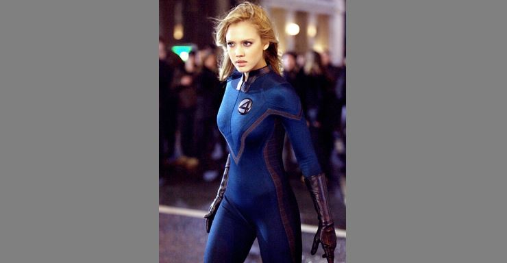 Photo of Jessica Alba in Fantastic Four looking fit
