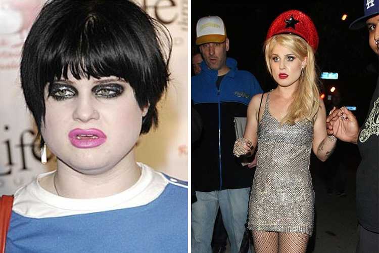 Photo of Kelly Osbourne who lost 50 pounds thanks to diet change