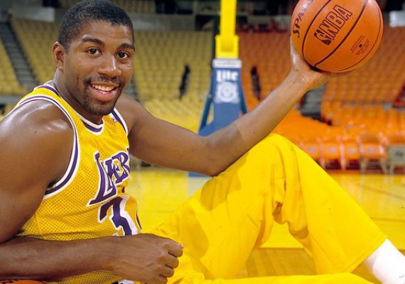 Magic Johnson, AIDS Sufferer