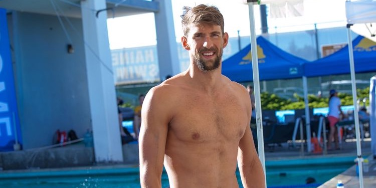 Photo of Michael Phelps Topless