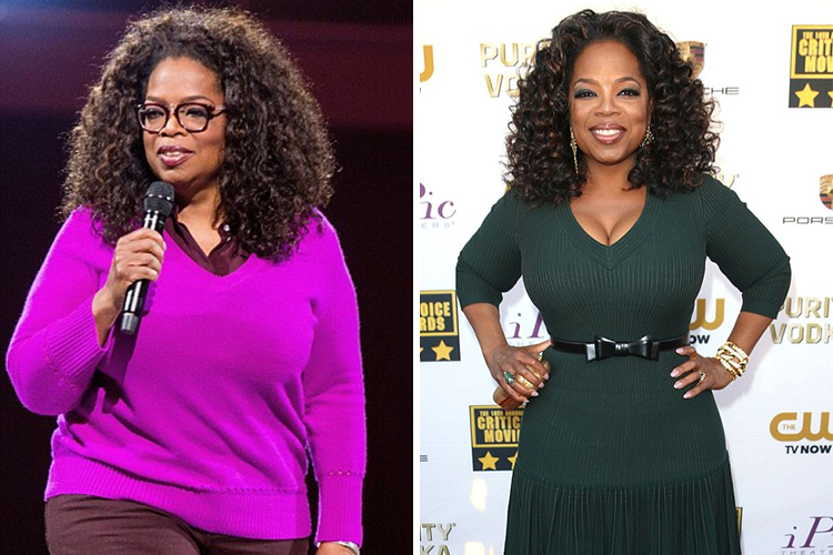 Photo of Oprah Winfrey who blames whit bread for her weight gain