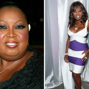 Photo of Star Jones who lost weight after gastric bypass surgery