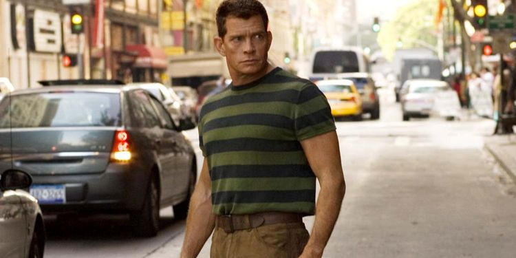 Photo of Thomas Haden Church in Spiderman 3 looking fit