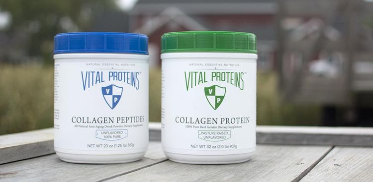 Photo of Vital Proteins package of collagen peptides