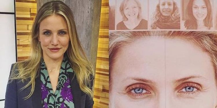 Wellness warrior Cameron Diaz promotes The Longevity Book.