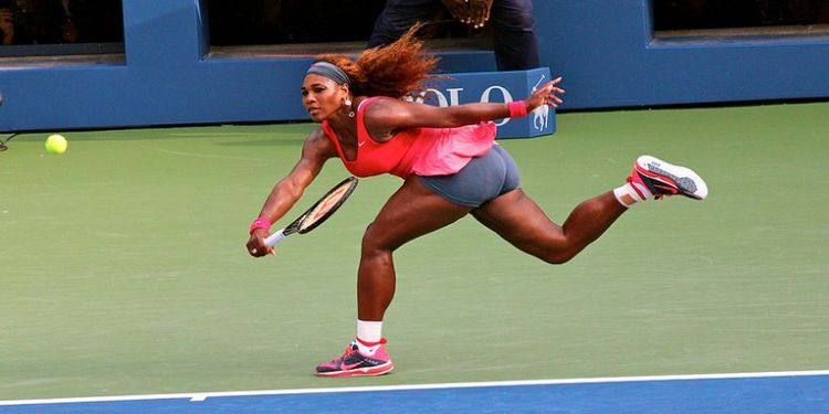 Wellness Warrior Serena Williams plays tennis
