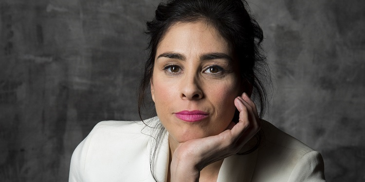 A photo of Sarah Silverman, a long time depression patient