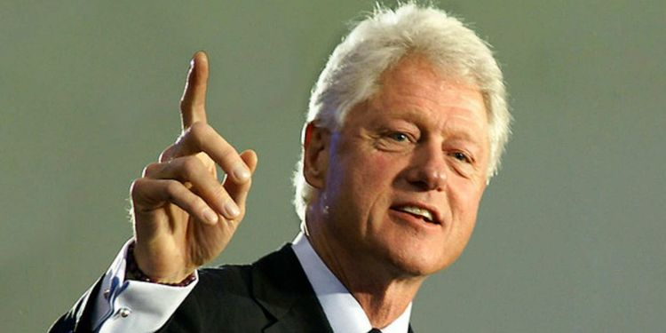 Photo of Bill Clinton who suffered from asthma
