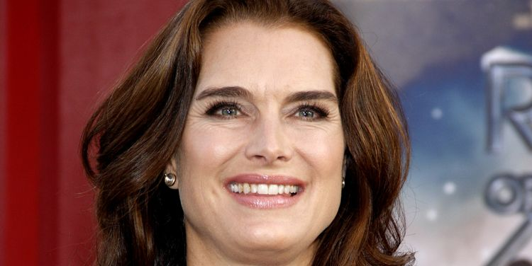 Photo of Brooke Shields who opened up about her postpartum depression