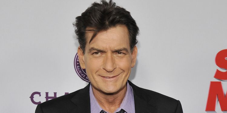 Photo of Charlie Sheen, HIV positive