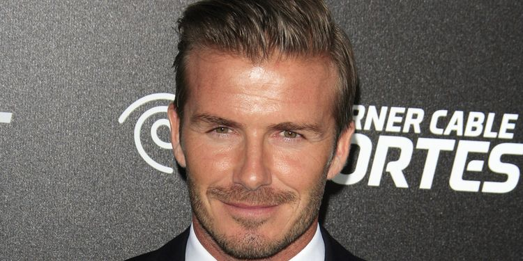 Photo of David Beckham who has OCD
