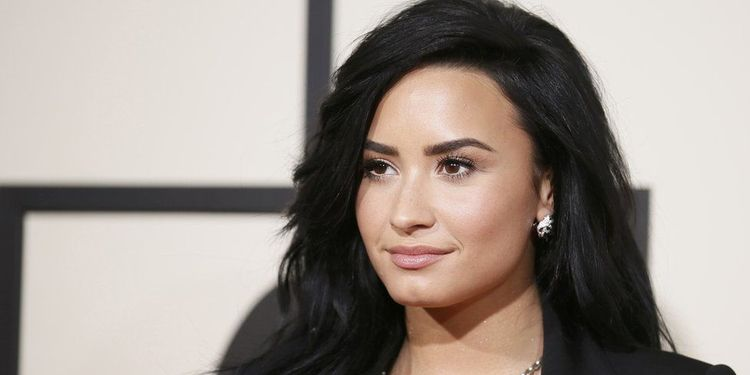 Photo of Demi Lovato who was diagnosed with bipolar disorder