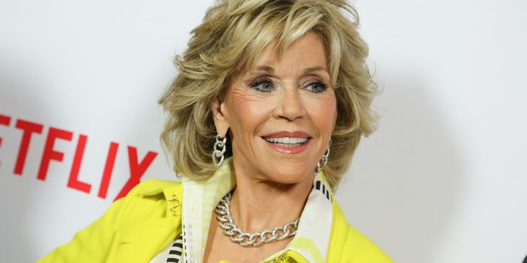 Photo of Jane Fonda who suffered from bulimia