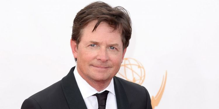 Photo of Michael J Fox who lives with devastating Parkinson's disease