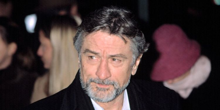 Photo of Robert De Niro who suffered the prostate cancer