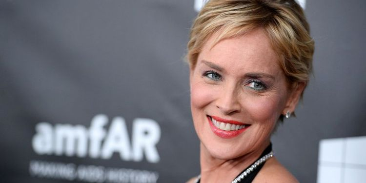 Photo of Sharon Stone who survived stroke