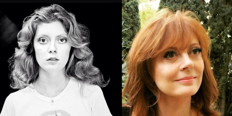 Image of Susan Sarandon who proves beauty is ageless